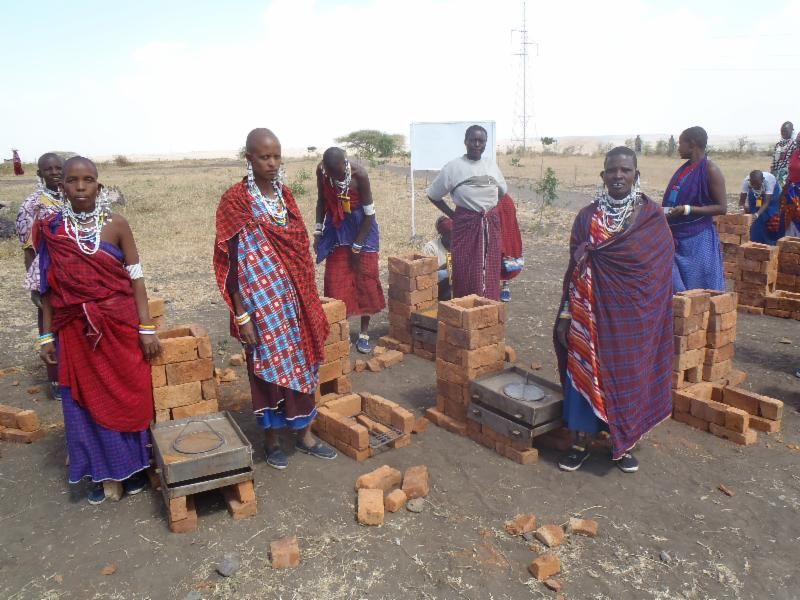 Women stove making training