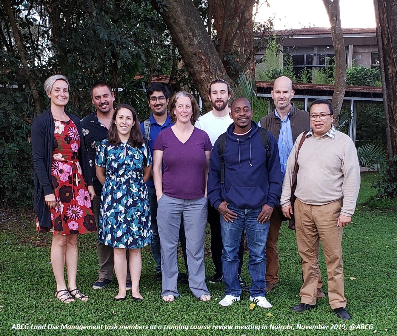LUM modular training course meeting on integrating biodiversity in Land Use Planning for African countries Nov 2019