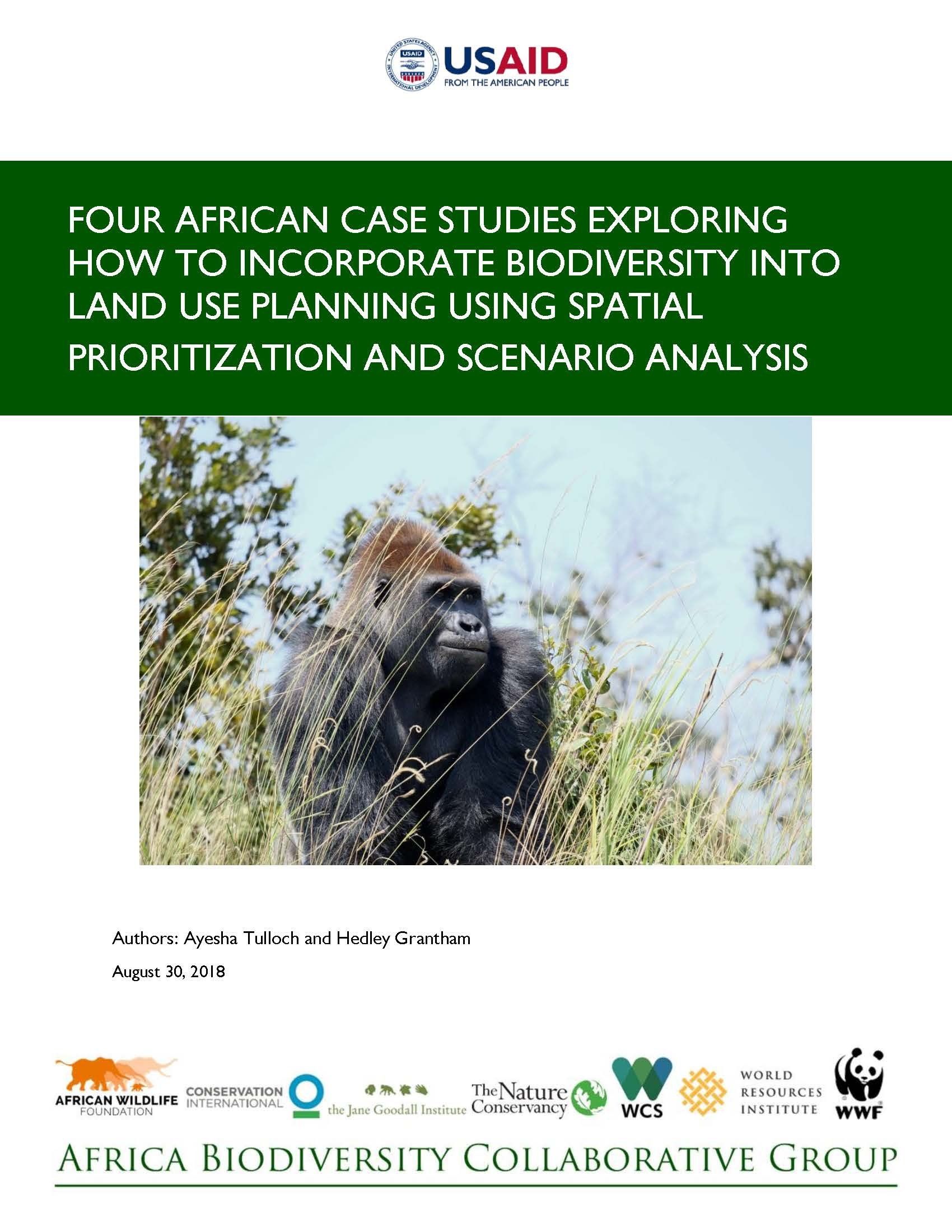 Four African Case Studies Report Cover Page
