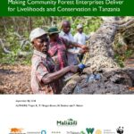 Making Community Forest Enterprises Deliver for Livelihoods and Conservation in Tanzania