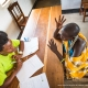 Human response survey by TNC, Makame, Tanzania