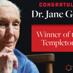 Founder of ABCG Member Organization, the Jane Goodall Institute, Wins 2021 Templeton Prize