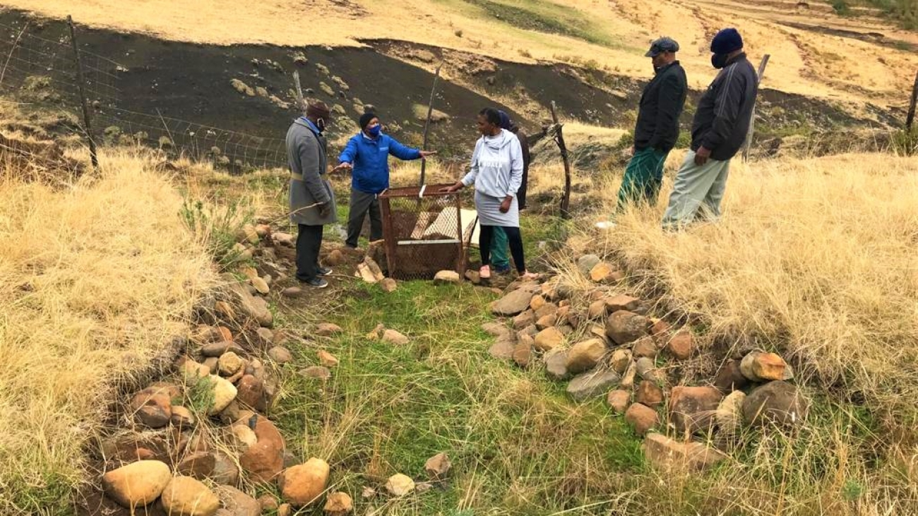 ABCG FWWASH field activity South Africa 2020. Photo credit Zola Mbuyana/ANDM
