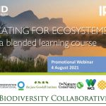 Advocating for Ecosystems and WASH: a blended learning course